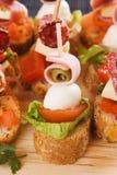 Party food stock photos