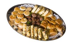 Party Food Royalty Free Stock Photos