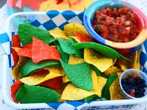 Party food. Some party food in color Royalty Free Stock Photo