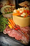 Party food for the holidays Royalty Free Stock Photos