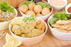 Party Food Stock Images