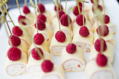 Party food snacks Royalty Free Stock Photo