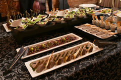 Party food table Royalty Free Stock Photo