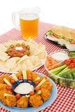 Party Food Vertical Royalty Free Stock Images