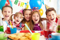 Party of friends Stock Photography