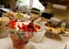 Party Fruit Bowl Stock Photography