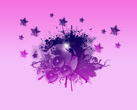 Party and Fun Backround. Party,Dance and Star  and Fun Backround Royalty Free Stock Image