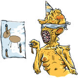 Party Game Monster Royalty Free Stock Photography