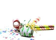 Party-Gebläse Lizenzfreie Stockbilder