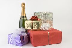 Party gifts stock photo