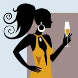 Party Girl Stock Images