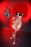 Party girl Royalty Free Stock Photography