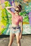 Party girl Fotos de Stock