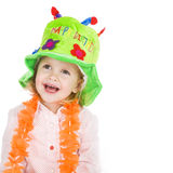 Party girl Royalty Free Stock Photo