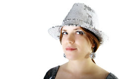 Party girl portrait Royalty Free Stock Photos