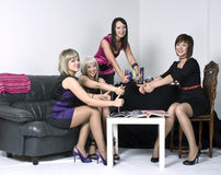 Party girls Royalty Free Stock Photo