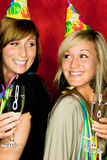 Party girls royalty free stock image