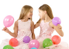 Party girls Royalty Free Stock Photography