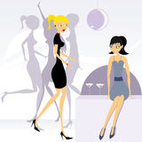 Party girls 2 Royalty Free Stock Image