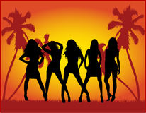 Free Party Girls Stock Image - 6016391