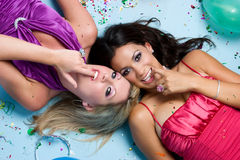 Party Girls Stock Image