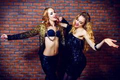 Party-Girls haben Spaß stockfoto