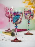Party glasses Royalty Free Stock Photos