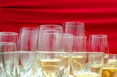 Party glasses Royalty Free Stock Images