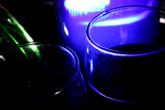 Party Glasses Background Royalty Free Stock Photos