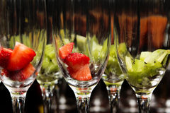 Party glasses Stock Image