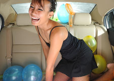 Party On The Go 71 Royalty Free Stock Image