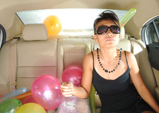 Party On The Go Royalty Free Stock Photography