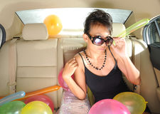Party On The Go  Stock Photo
