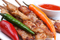 Party grilled skewers Stock Photography