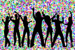 Party groove Royalty Free Stock Images