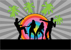 Party - grunge background Royalty Free Stock Photography