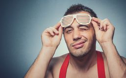 Party guy Royalty Free Stock Photography