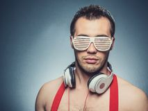 Party guy Royalty Free Stock Photo