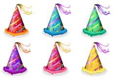 Party-Hüte vektor abbildung