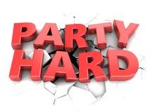 Party hard Royalty Free Stock Photo