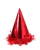 Party hat. Isolated on white background royalty free stock photos