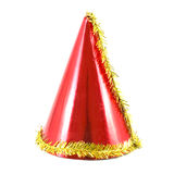 Party hat. Isolated on white background Royalty Free Stock Photo