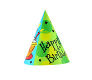 Party hat. Colorful party hat with decorative Happy Birthday Royalty Free Stock Image