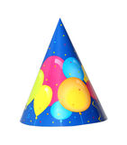 Party hat. Balloon party hat isolated on white background Stock Images