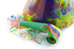 Party Hat and Blower Royalty Free Stock Image