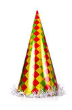 Party hat. Isolated on white background Royalty Free Stock Image