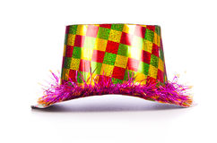 Party hat. Isolated on white background Stock Images