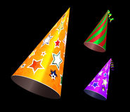 Party hat vector illustration Stock Photography