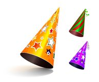 Party hat. Royalty Free Stock Photography