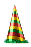 Party hat on white. Party hat on the white stock photo